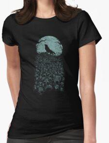 Midnight Hunter Womens Fitted T-Shirt