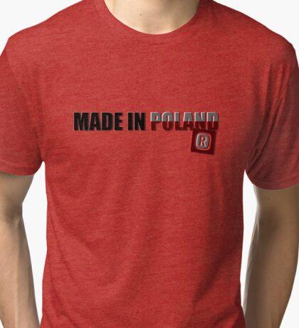 Made in Poland Tri-blend T-Shirt