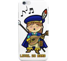 Level 20 Bard iPhone Case/Skin