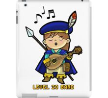 Level 20 Bard iPad Case/Skin