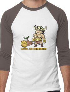 Level 20 Barbarian Men's Baseball ¾ T-Shirt