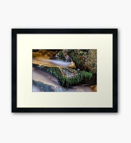 Flowing  Framed Print