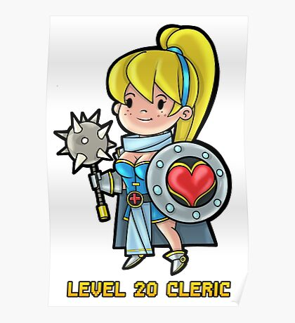 Level 20 Cleric Poster