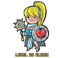 Level 20 Cleric Photographic Print
