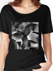 Charcoal Women's Relaxed Fit T-Shirt