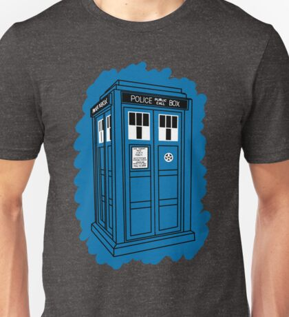 Tardis Scribble Unisex T-Shirt