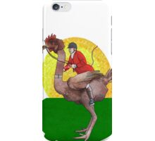 Genetically modified fox hunting iPhone Case/Skin