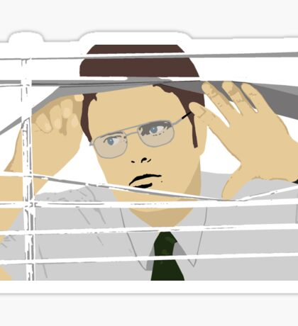 Dwight Schrute Workspace Sticker