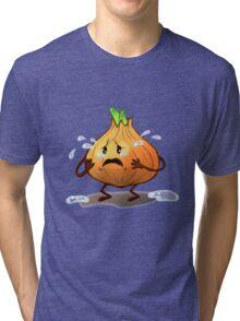 Crying Onion Tri-blend T-Shirt