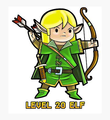 Level 20 Elf Photographic Print