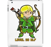 Level 20 Elf iPad Case/Skin