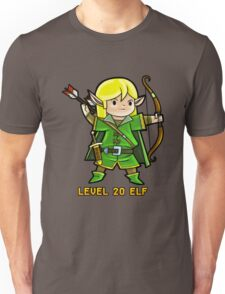 Level 20 Elf Unisex T-Shirt