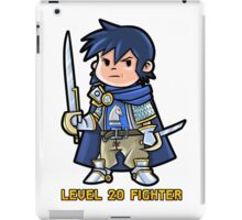 Level 20 Fighter iPad Case/Skin
