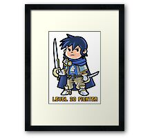 Level 20 Fighter Framed Print