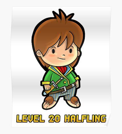 Level 20 Halfling Poster