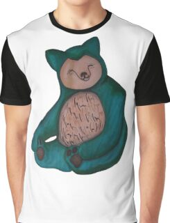 Snorlax Graphic T-Shirt