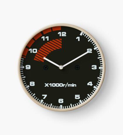 Type R Tachometer Clock Clock