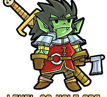Level 20 Half Orc by WarpZoneGraphic