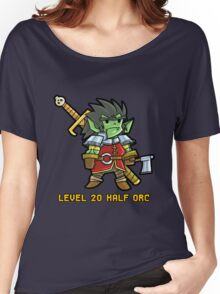 Level 20 Half Orc Women's Relaxed Fit T-Shirt