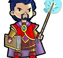 Level 20 Wizard by WarpZoneGraphic