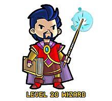 Level 20 Wizard Photographic Print