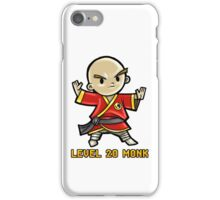 Level 20 Monk iPhone Case/Skin