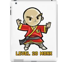 Level 20 Monk iPad Case/Skin