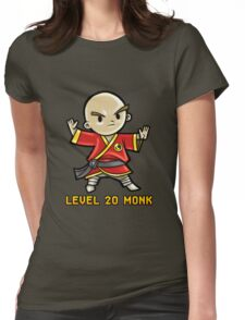 Level 20 Monk Womens Fitted T-Shirt