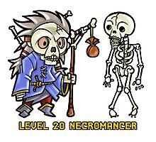 Level 20 Necromancer Photographic Print