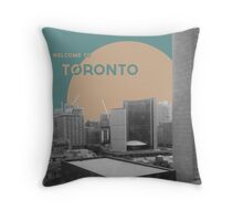 Welcome to Toronto! Throw Pillow
