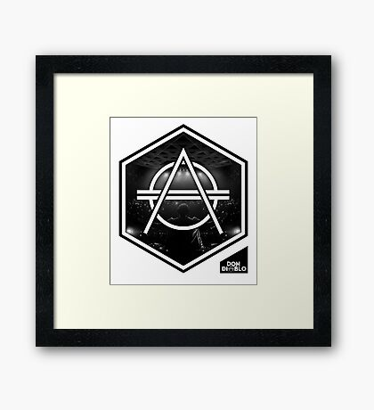 don diablo - Atmosphere Framed Print