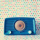 Blue radio by Caroline Mint