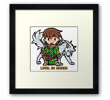 Level 20 Ranger Framed Print