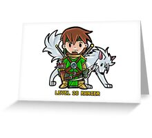 Level 20 Ranger Greeting Card