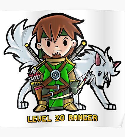 Level 20 Ranger Poster