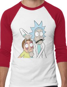 Rick & Morty Men's Baseball ¾ T-Shirt