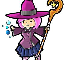 Level 20 Witch by WarpZoneGraphic