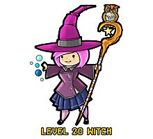 Level 20 Witch Photographic Print