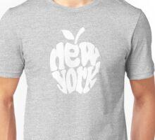 Big Apple New York, white Unisex T-Shirt