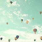 The Rainbow balloon by Caroline Mint