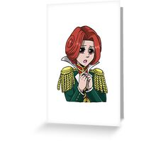 Video Game Headshot | Ron Delite Greeting Card