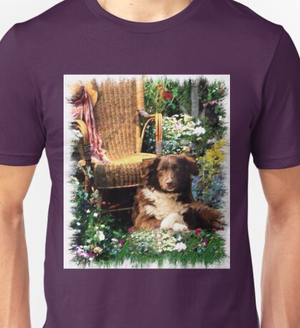 Australian Shepherd Lovers Art Gifts Unisex T-Shirt