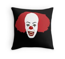 Pennywise the Clown from Stephen King's IT Throw Pillow