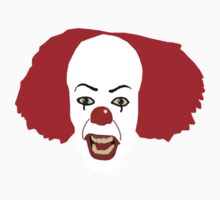 Pennywise the Clown from Stephen King's IT by Maggie Smith