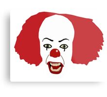 Pennywise the Clown from Stephen King's IT Metal Print