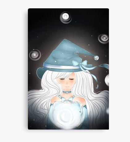 Ice Wizard Canvas Print