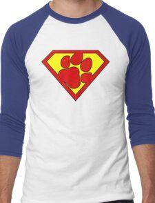 The Last Pup Of Krypton  Men's Baseball ¾ T-Shirt