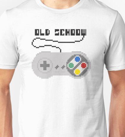 SNES joystick. Pixelart. Unisex T-Shirt