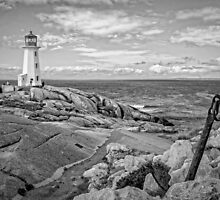 Peggy's Cove Light II by PhotosByHealy