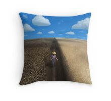 Sow and Reap Throw Pillow